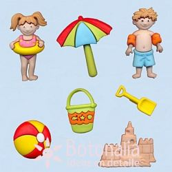 Dress-it-Up - A day at the beach