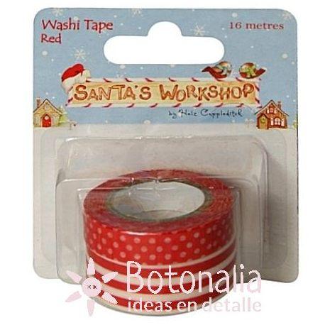 Ribbons Washi - Santa's Workshop