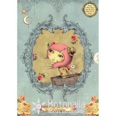 Santoro - Mirabelle Adrift - Decorated paper
