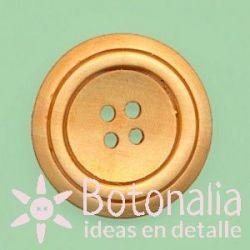Circular tallado de madera 30 mm