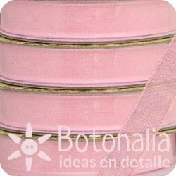 Santoro Mirabelle - Pink organza ribbon
