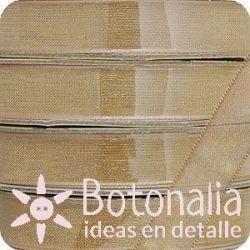Santoro Mirabelle - Golden ocher organza ribbon