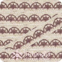 Santoro Mirabelle - Printed ribbon lace