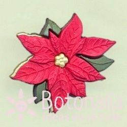 Dress-it-Up - Red Poinsettia