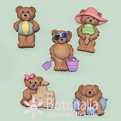 Dress-it-Up - Summer Bears