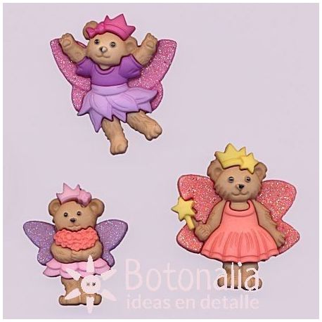Dress-it-Up - Fairy Bears