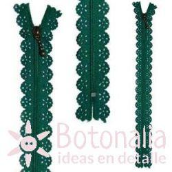 Cremallera Fantasía 22 cm - Verde