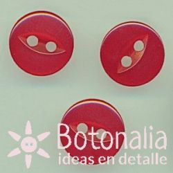 Red button 11 mm