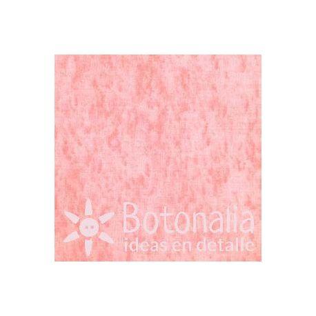 Fat Quarter - Marbled - Orange Pink