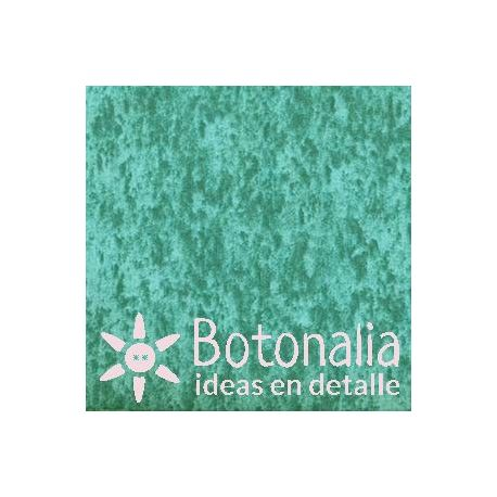 Fat Quarter - Marbled - Turquoise green