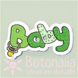 Botón 'Baby' verde