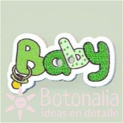Button 'Baby' in green