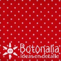 Fat Quarter - Polka dots - Red