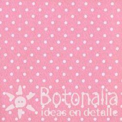 Fat Quarter - Polka dots - Pink