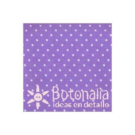 Fat Quarter - Polka dots - Purple