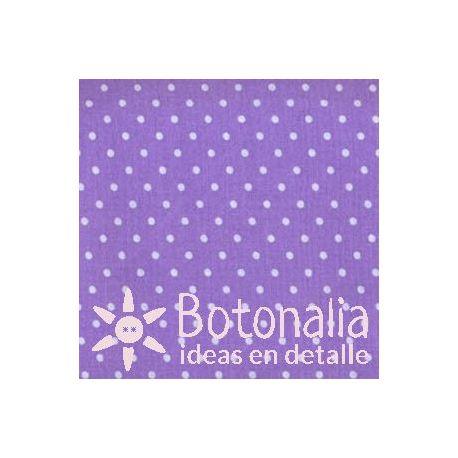 Fat Quarter - Lunares - Violeta
