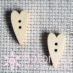 Heart Elongate 20 mm