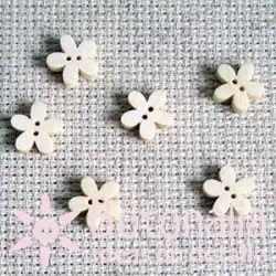 Florecita Madera 11 mm