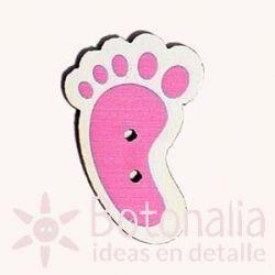 Pink foot print 30 mm