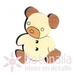 Wooden little bear 30 mm