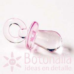 Charm Chupete Rosa 32 mm