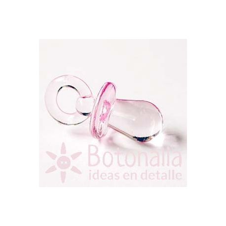 Charm pink pacifier 32 mm