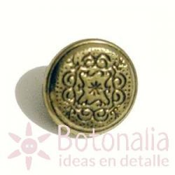 Golden button 11 mm