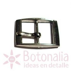 Small silver buckle 25 mm