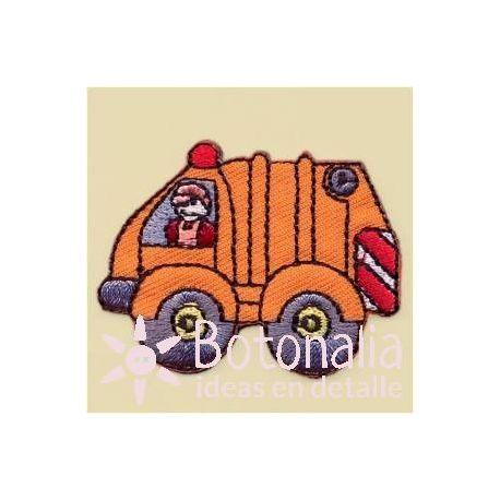 Camión Basura Naranja