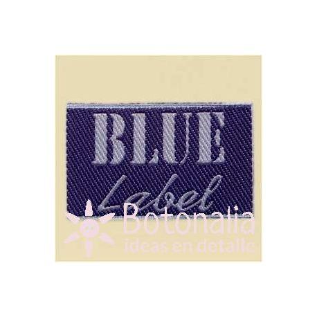 Etiqueta Blue Label