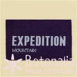 Label Expedition Mountain