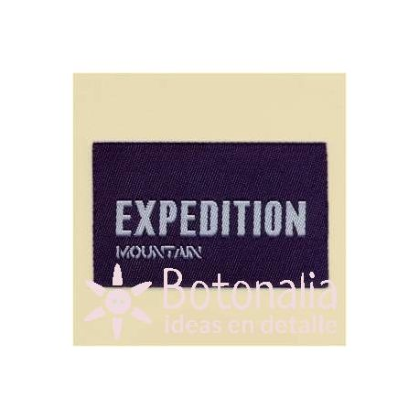 Etiqueta Expedition Mountain
