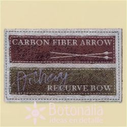 Label BOW & ARROW