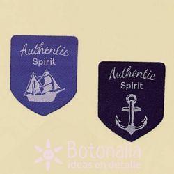 Etiquetas Authentic Spirit