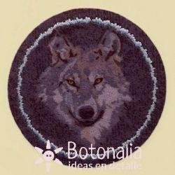 Etiqueta Cabeza de Lobo