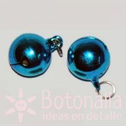 Cascabel azul de 18 mm