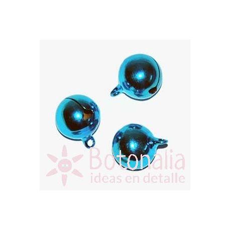 Cascabel azul de 16 mm