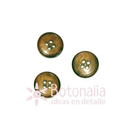 Brown classic 15 mm