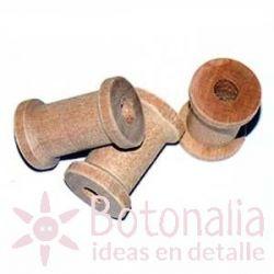Mini wooden bobbin 23 mm