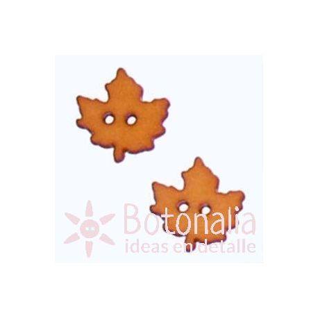 Autumn leaf ocher 18 mm