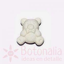 White little bear 18 mm