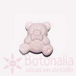 Pastel pink little bear 18 mm