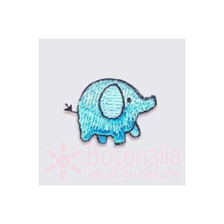 Elefantito azul
