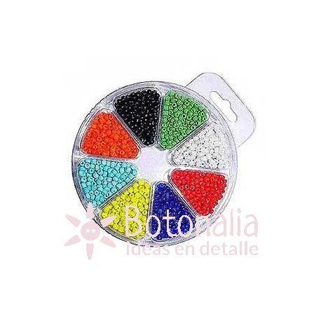 Beads assortment 2,5 mm - Opaque