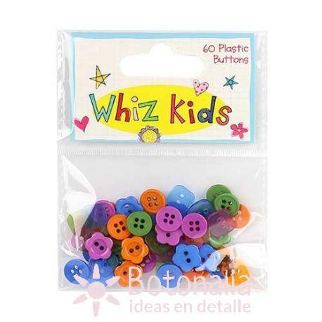 Surtido botones plástico - Whiz Kids