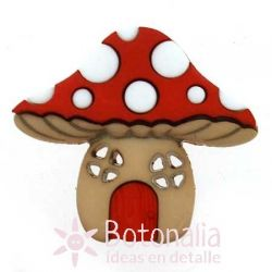 Little mushroom house 30 mm