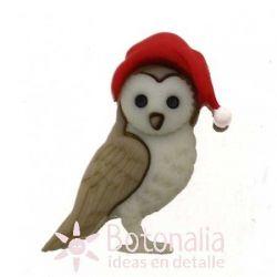 Christmas Owl 28 mm