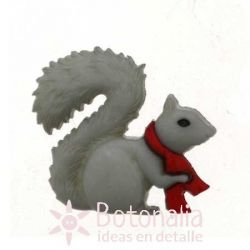 Christmas Squirrel 26 mm