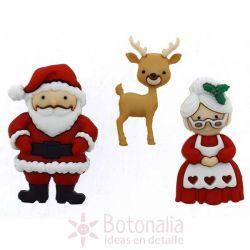 Dress-it-Up - Mr. & Mrs. Claus
