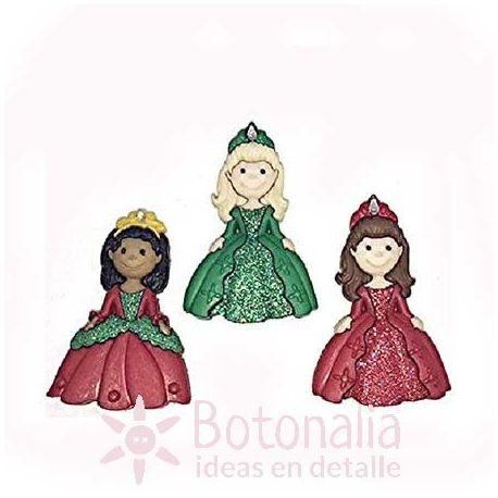 Dress-it-Up - Princesas de Navidad